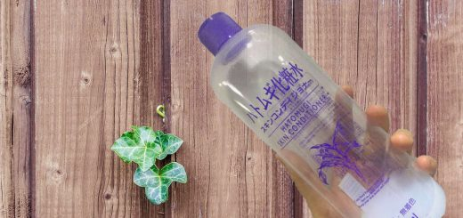 520x245 - Review:Hatomugi Skin Conditioner (by Naturie Japan)