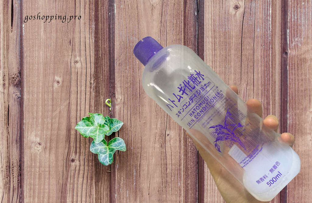 薏仁水背景板 - Review:Hatomugi Skin Conditioner (by Naturie Japan)