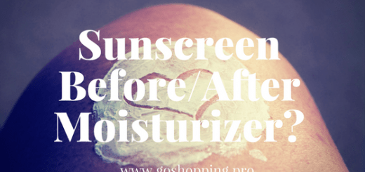 Should You Apply Sunscreen Before or After Moisturizer?