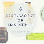 Best and Worst of Innisfree 1 150x150 - Review: Kracie Hadabisei Moisturizing Face Mask (Tightening)-Japanese Skincare