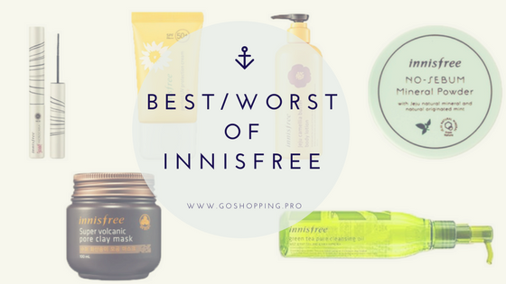 Best and Worst of Innisfree-Korean Skincare Review