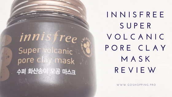 Innisfree Super Volcanic Pore Clay Mask Review copy - Innisfree Super Volcanic Pore Clay Mask Review-Korean Beauty