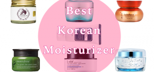 best korean moisturizer 520x245 - Best Korean Moisturizers for Combination, Oily, Dry and Sensitive Skin