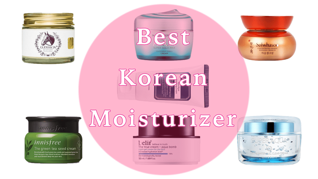 Best Korean Moisturizers for Combination, Oily, Dry and Sensitive Skin