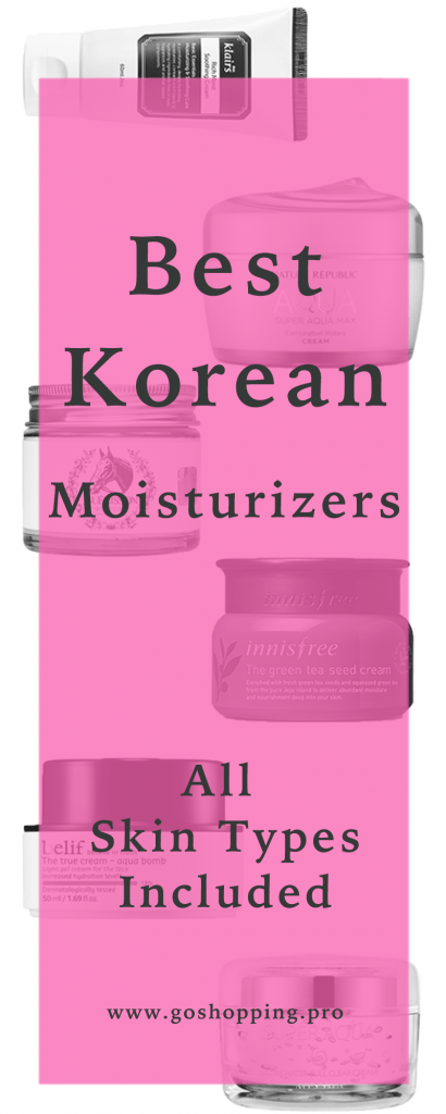 best korean moisturizers pinterest 1 410x1024 - Best Korean Moisturizers for Combination, Oily, Dry and Sensitive Skin