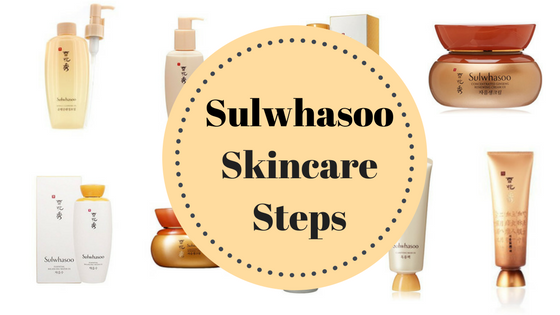 Sulwhasoo - Sulwhasoo Skin Care Steps-Korean Skincare Products