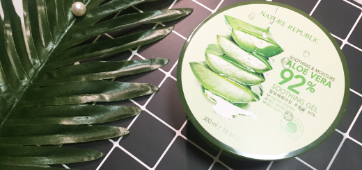nature republic aloe vera gel review