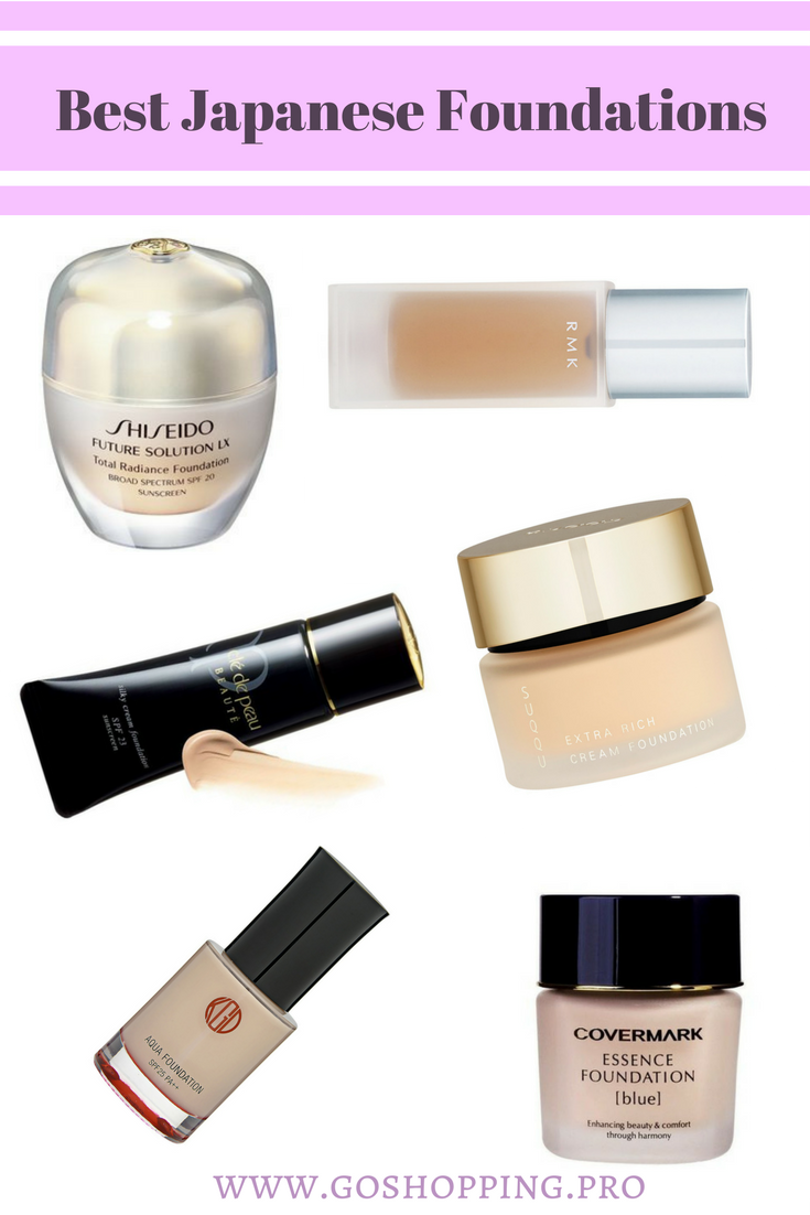 Best Japanese Foundations