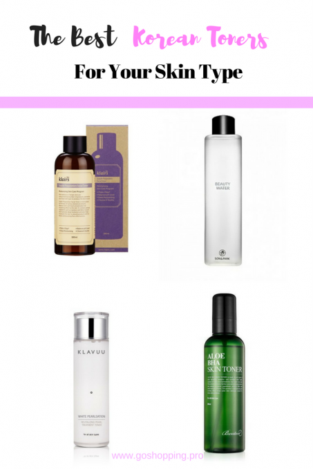Best Korean Toners You Should Know-All Skin Types Included