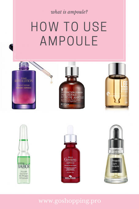 how to use ampoule