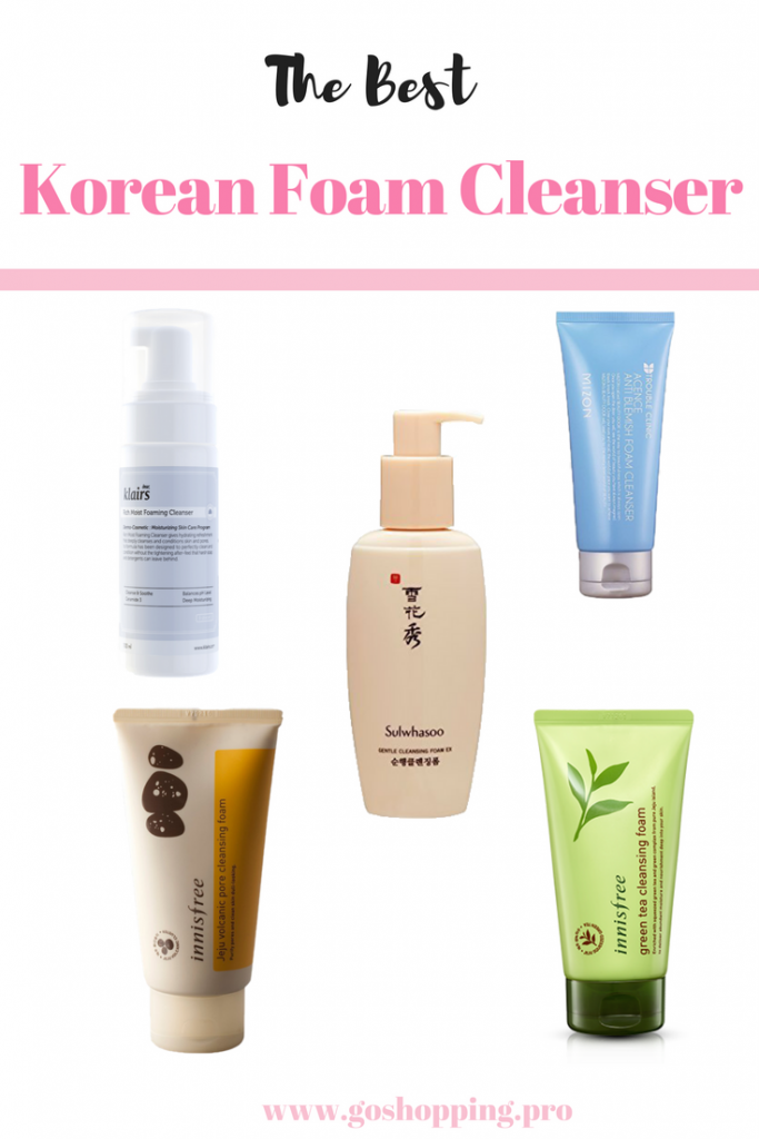 The Best 683x1024 - The 5 Best Korean Foam Cleansers For Your Skin Type-Korean Skincare