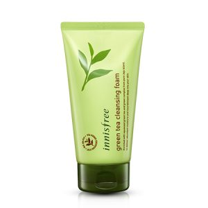 innisfree green tea cleansing foam 300x300 - The 5 Best Korean Foam Cleansers For Your Skin Type-Korean Skincare