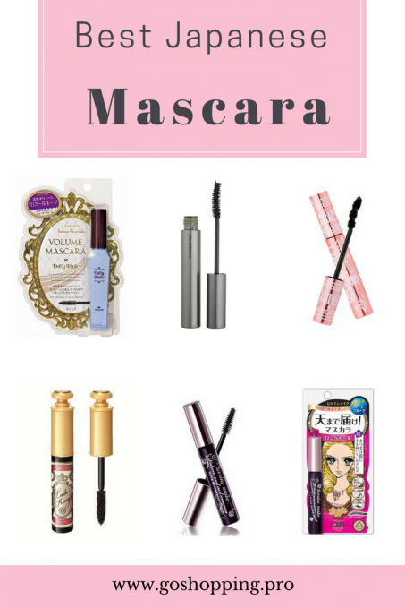 Top 6 Best Japanese Mascaras For Longer And Thicker Eyelashes